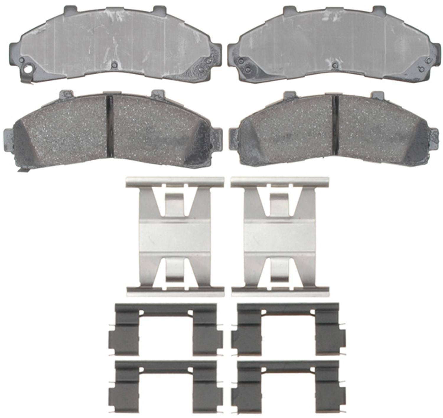 ACDELCO PROFESSIONAL BRAKES - Ceramic Disc Brake Pad (Front) - ADU 17D652CH