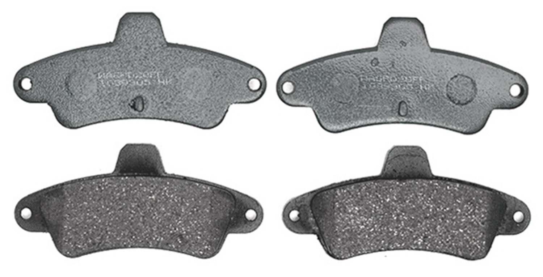 ACDELCO PROFESSIONAL BRAKES - Organic Disc Brake Pad (Rear) - ADU 17D661