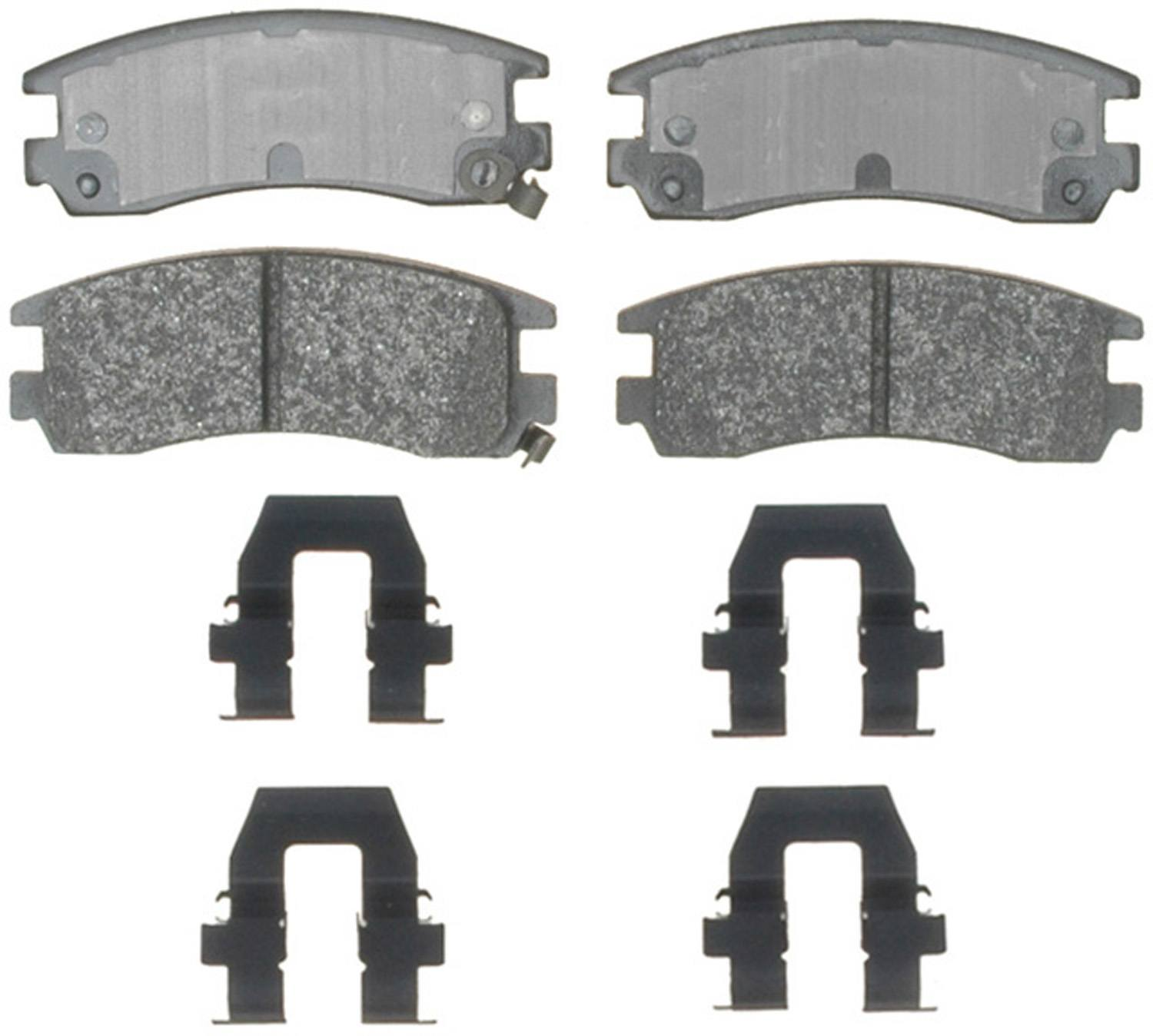ACDELCO SPECIALTY - Police Semi-Metallic Disc Brake Pad (Rear) - DCE 17D698MHPV
