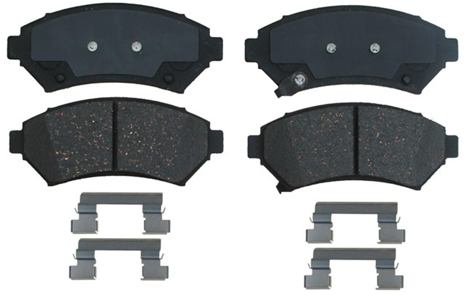 ACDELCO PROFESSIONAL BRAKES - Ceramic Disc Brake Pad (Front) - ADU 17D699CH