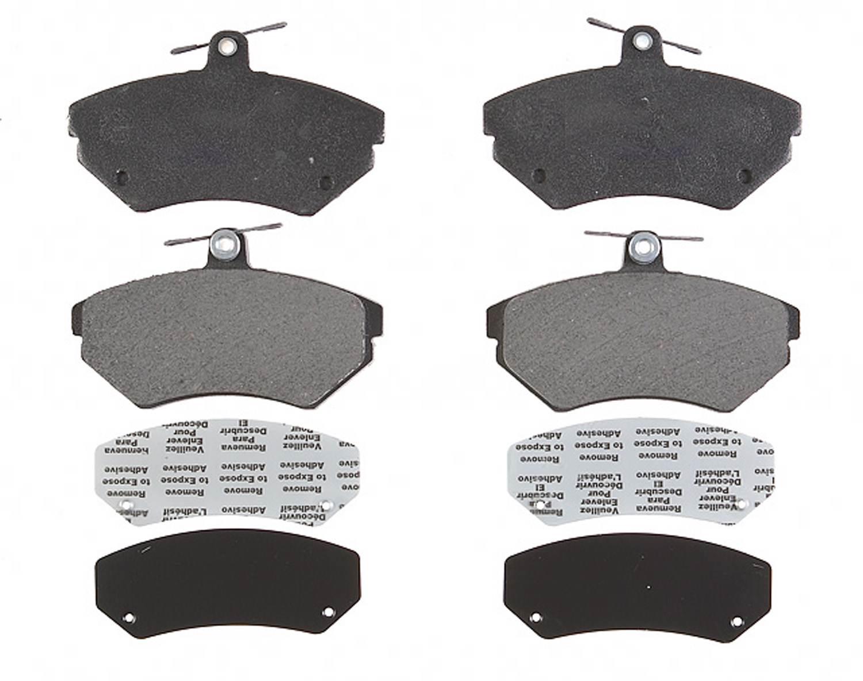 ACDELCO PROFESSIONAL BRAKES - Semi Metallic Disc Brake Pad (Front) - ADU 17D704M