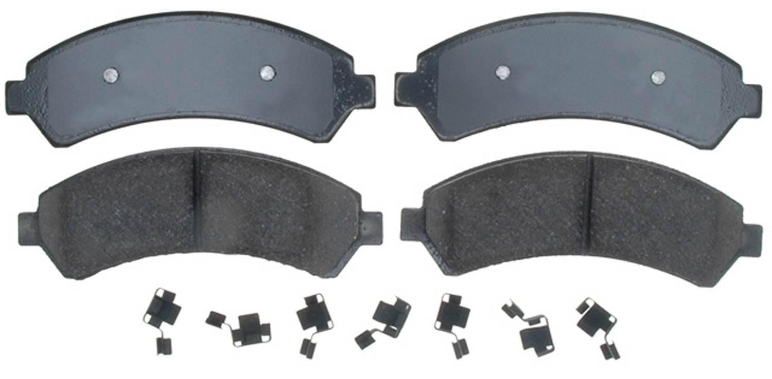 ACDELCO PROFESSIONAL BRAKES - Ceramic Disc Brake Pad (Front) - ADU 17D726CH