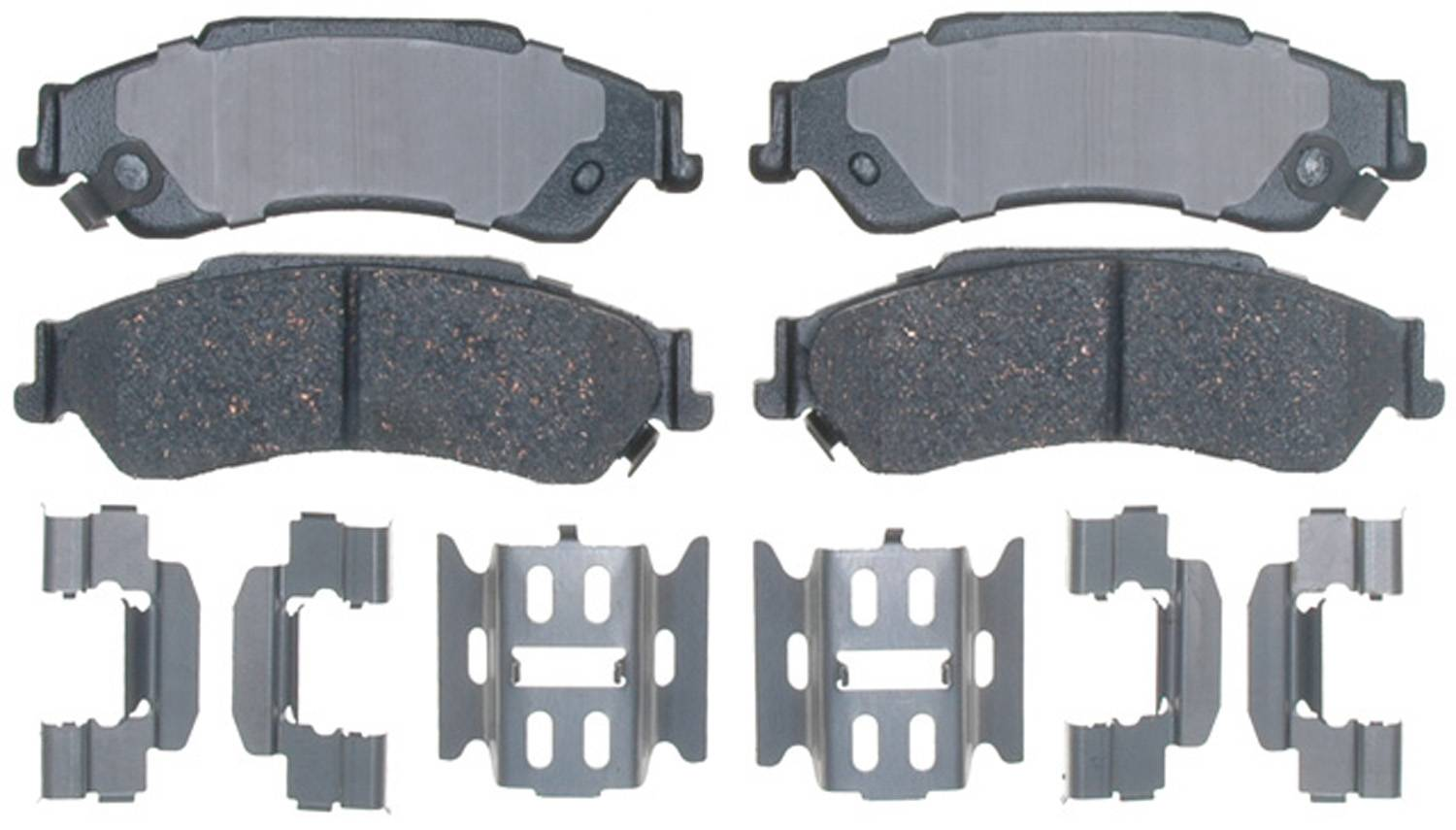 ACDELCO PROFESSIONAL BRAKES - Ceramic Disc Brake Pad (Rear) - ADU 17D729CH