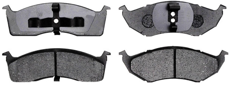 ACDELCO PROFESSIONAL BRAKES - Organic Disc Brake Pad (Front) - ADU 17D730