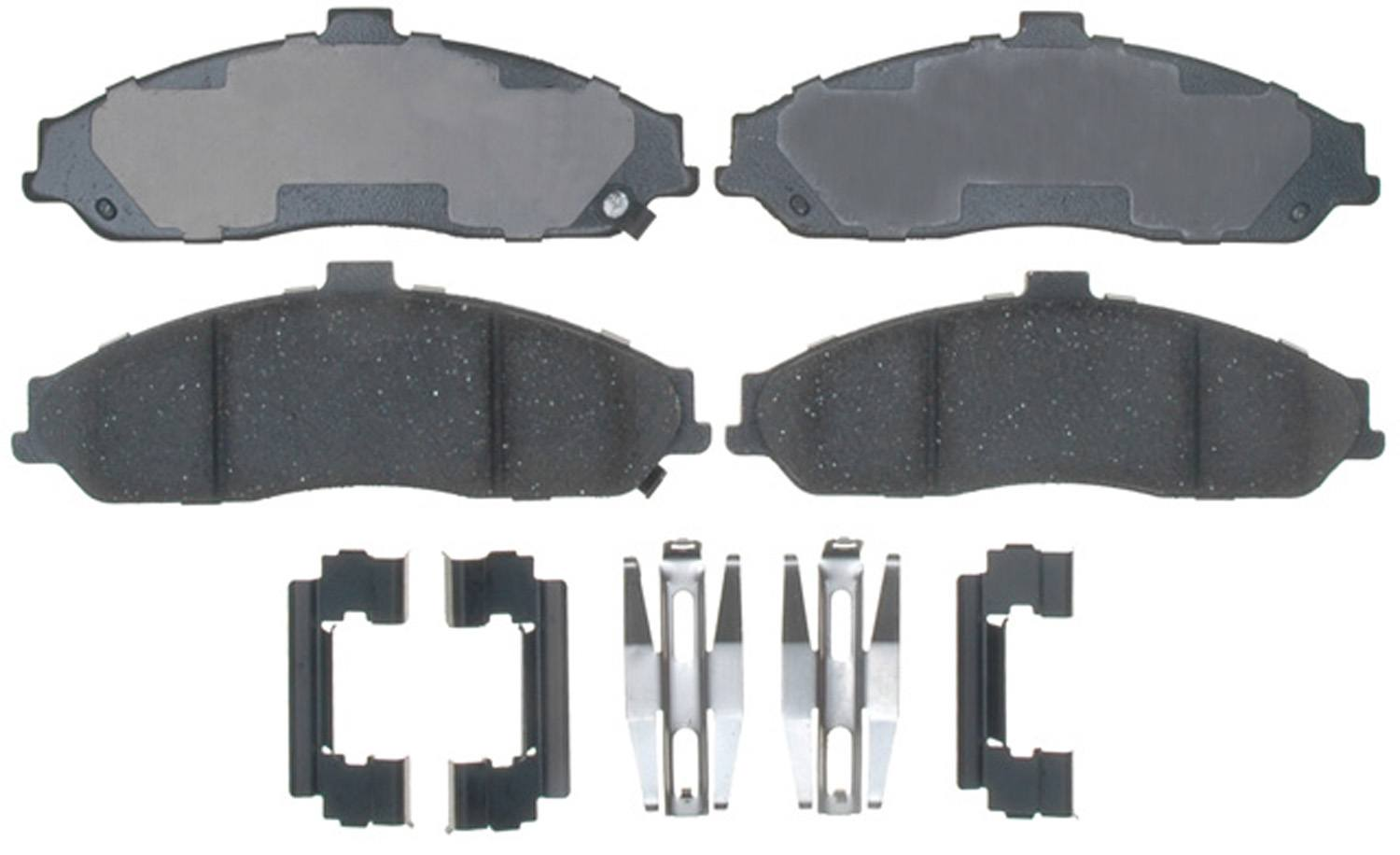 ACDELCO PROFESSIONAL BRAKES - Ceramic Disc Brake Pad (Front) - ADU 17D731CH