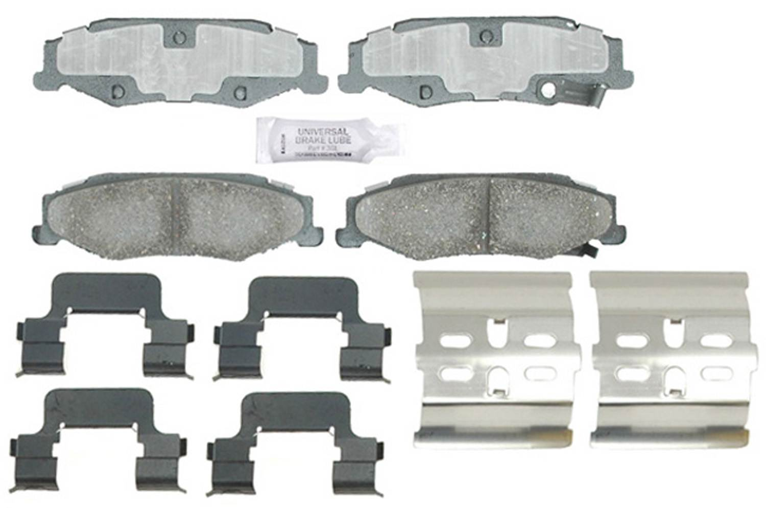 ACDELCO PROFESSIONAL BRAKES - Ceramic Disc Brake Pad (Rear) - ADU 17D732CH