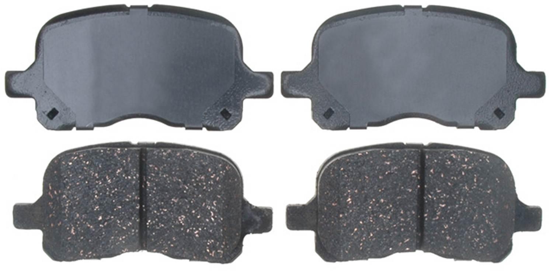 ACDELCO PROFESSIONAL BRAKES - Ceramic Disc Brake Pad (Front) - ADU 17D741C
