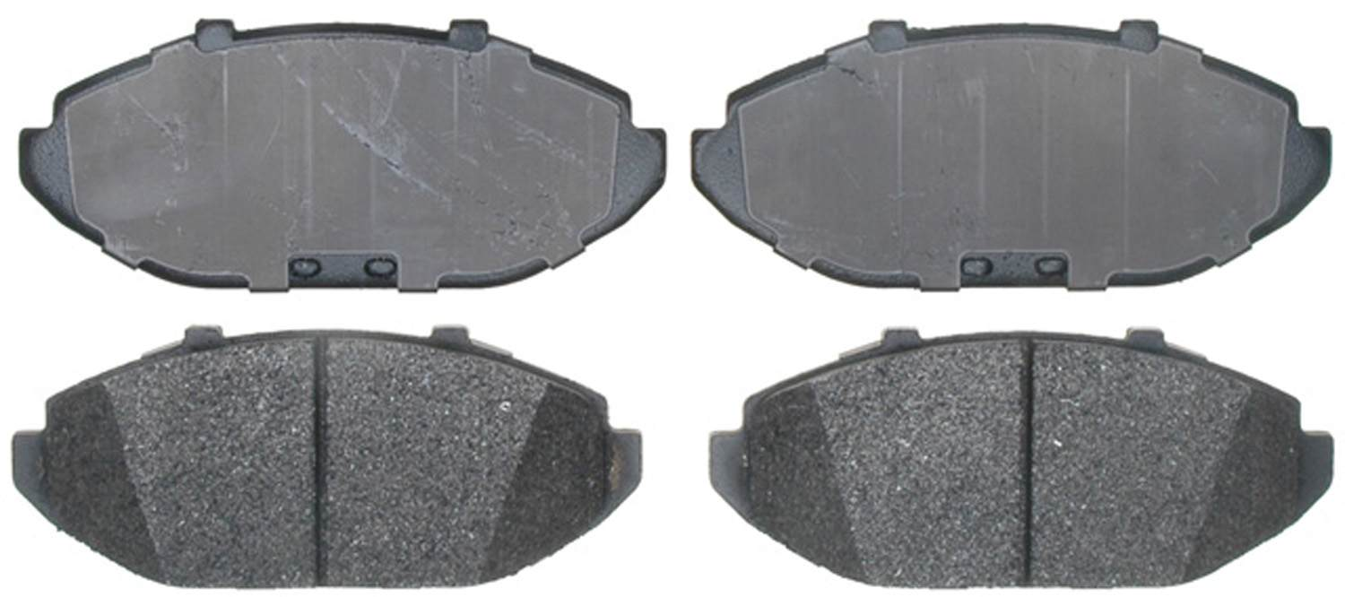 ACDELCO SPECIALTY - Performance Disc Brake Pad - DCE 17D748MX