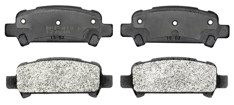 ACDELCO PROFESSIONAL BRAKES - Semi Metallic Disc Brake Pad (Rear) - ADU 17D770M