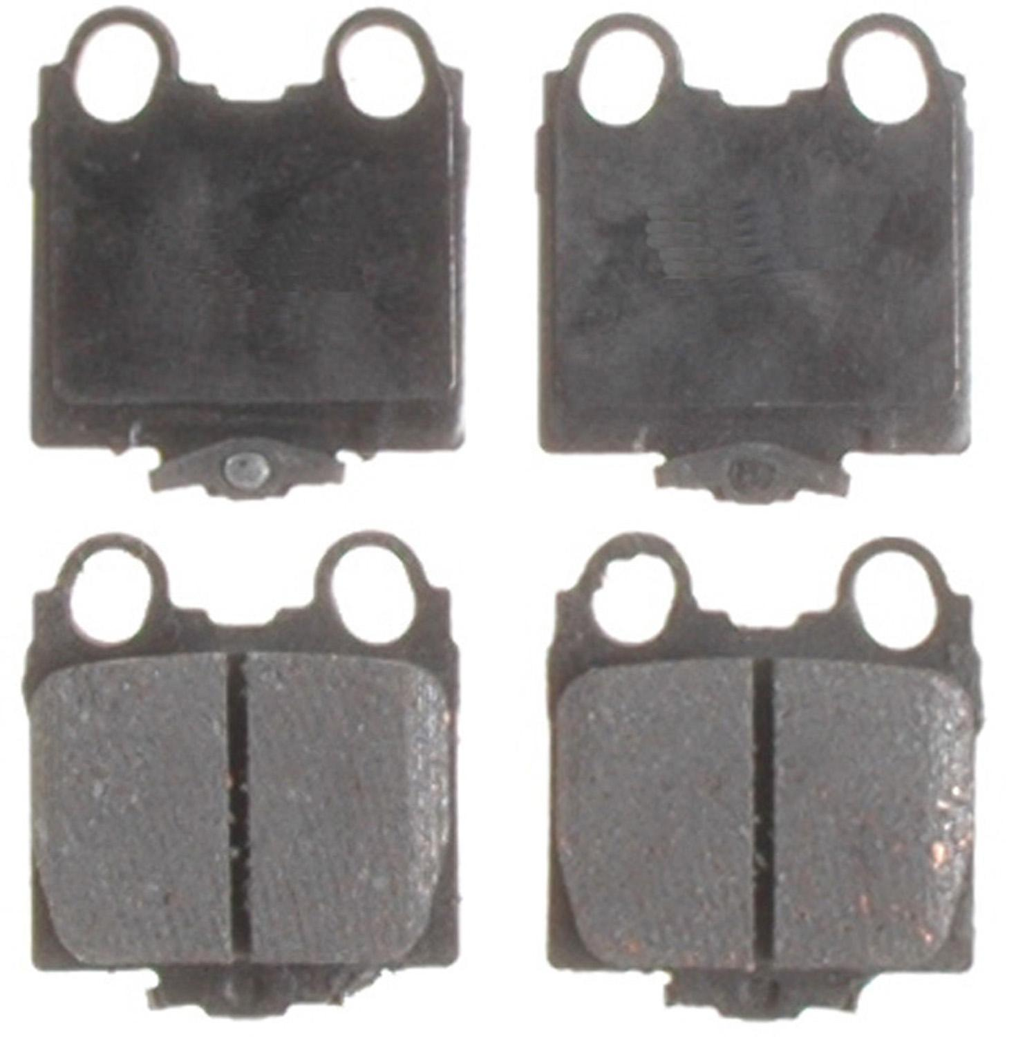 ACDELCO PROFESSIONAL BRAKES - Ceramic Disc Brake Pad (Rear) - ADU 17D771C