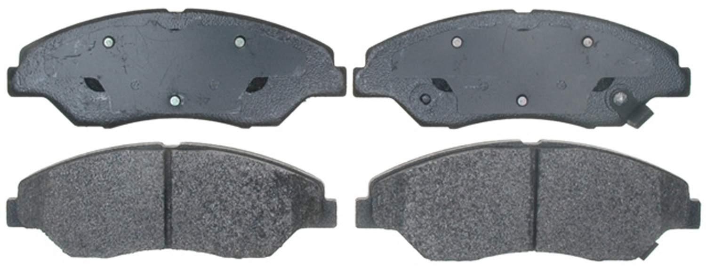 ACDELCO PROFESSIONAL BRAKES - Semi Metallic Disc Brake Pad (Front) - ADU 17D774M