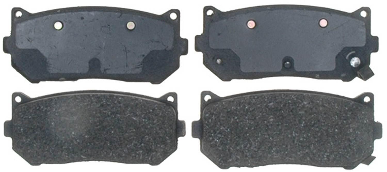 ACDELCO PROFESSIONAL BRAKES - Organic Disc Brake Pad (Rear) - ADU 17D775