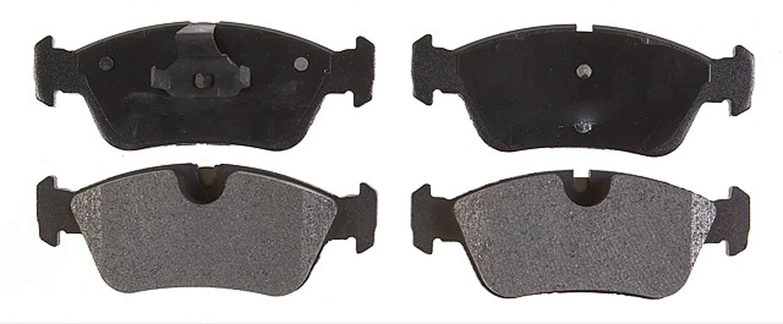 ACDELCO PROFESSIONAL BRAKES - Semi Metallic Disc Brake Pad (Front) - ADU 17D781M