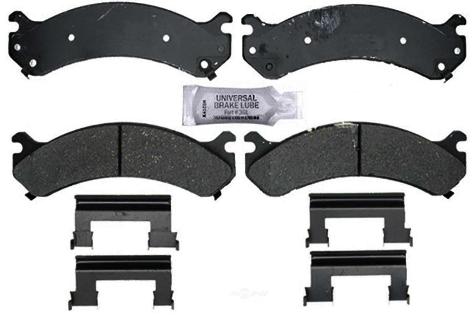ACDELCO PROFESSIONAL BRAKES - Ceramic Disc Brake Pad (Front) - ADU 17D784CH