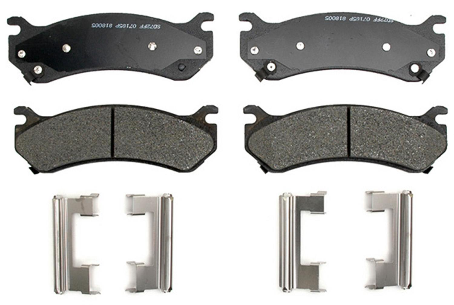 ACDELCO GOLD/PROFESSIONAL BRAKES - Semi-Metallic (Rear) - ADU 17D785MHF1
