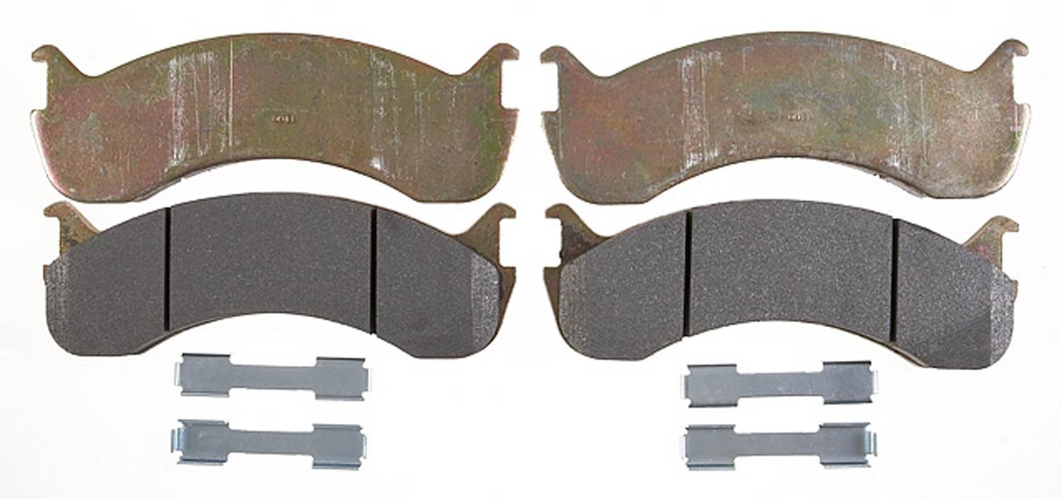 ACDELCO PROFESSIONAL BRAKES - Semi Metallic Disc Brake Pad - ADU 17D786AM