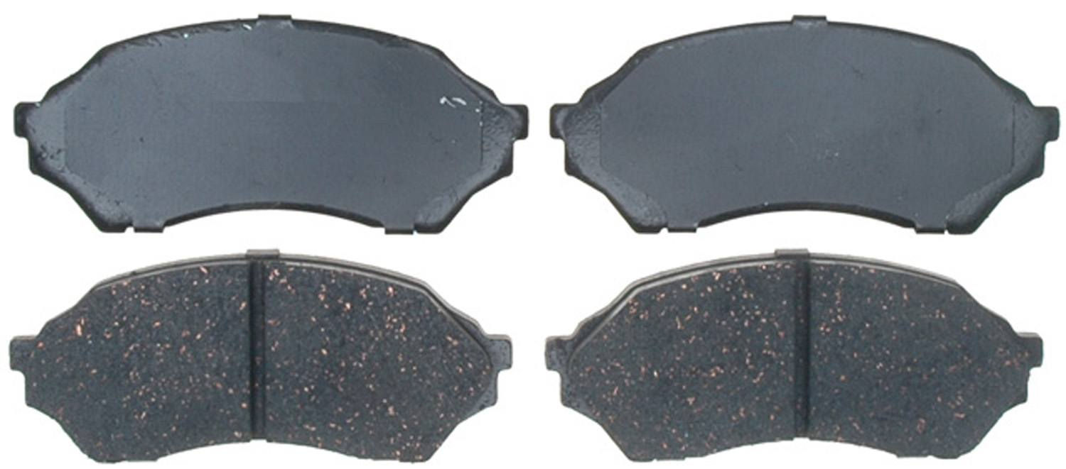 ACDELCO PROFESSIONAL BRAKES - Ceramic Disc Brake Pad (Front) - ADU 17D798C