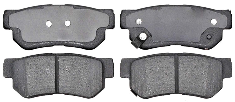 ACDELCO PROFESSIONAL BRAKES - Organic Disc Brake Pad (Rear) - ADU 17D813