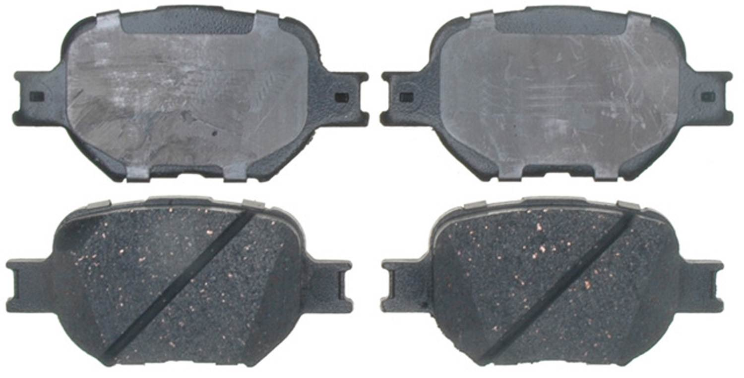 ACDELCO PROFESSIONAL BRAKES - Ceramic Disc Brake Pad (Front) - ADU 17D817C