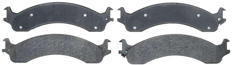ACDELCO PROFESSIONAL BRAKES - Semi Metallic Disc Brake Pad (Front) - ADU 17D821M