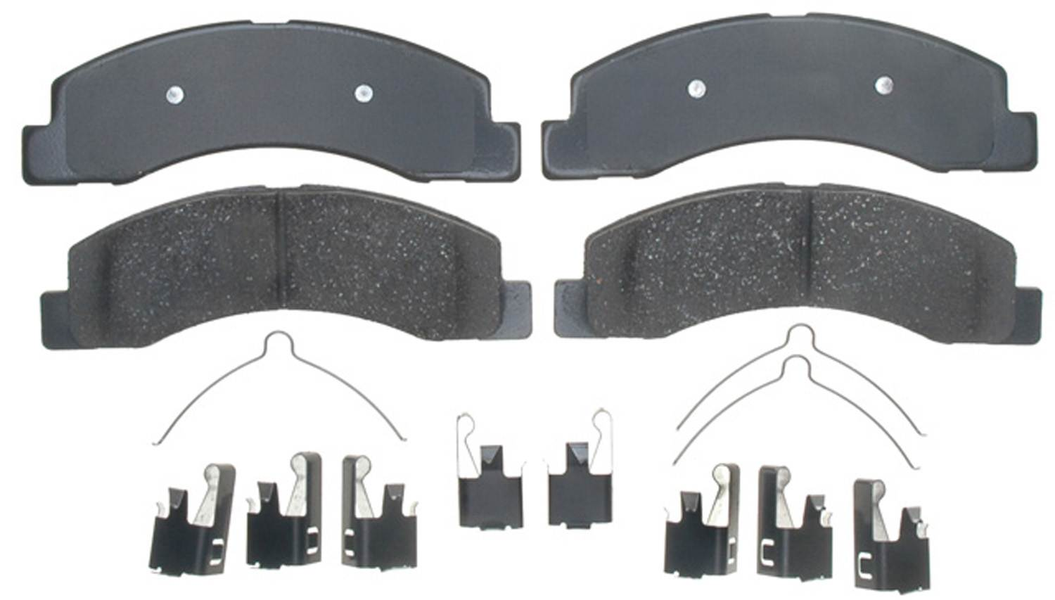 ACDELCO GOLD/PROFESSIONAL BRAKES - Ceramic Disc Brake Pad (Front) - ADU 17D824CH
