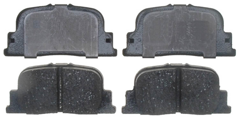 ACDELCO GOLD/PROFESSIONAL BRAKES - Ceramic Disc Brake Pad (Rear) - ADU 17D835C