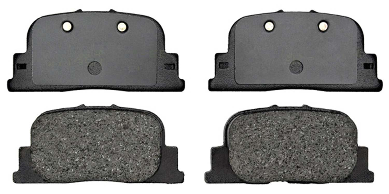 ACDELCO GOLD/PROFESSIONAL BRAKES - Organic Disc Brake Pad (Rear) - ADU 17D835