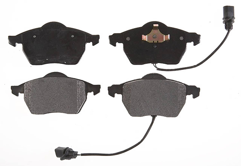 ACDELCO PROFESSIONAL BRAKES - Semi Metallic Disc Brake Pad (Front) - ADU 17D840M