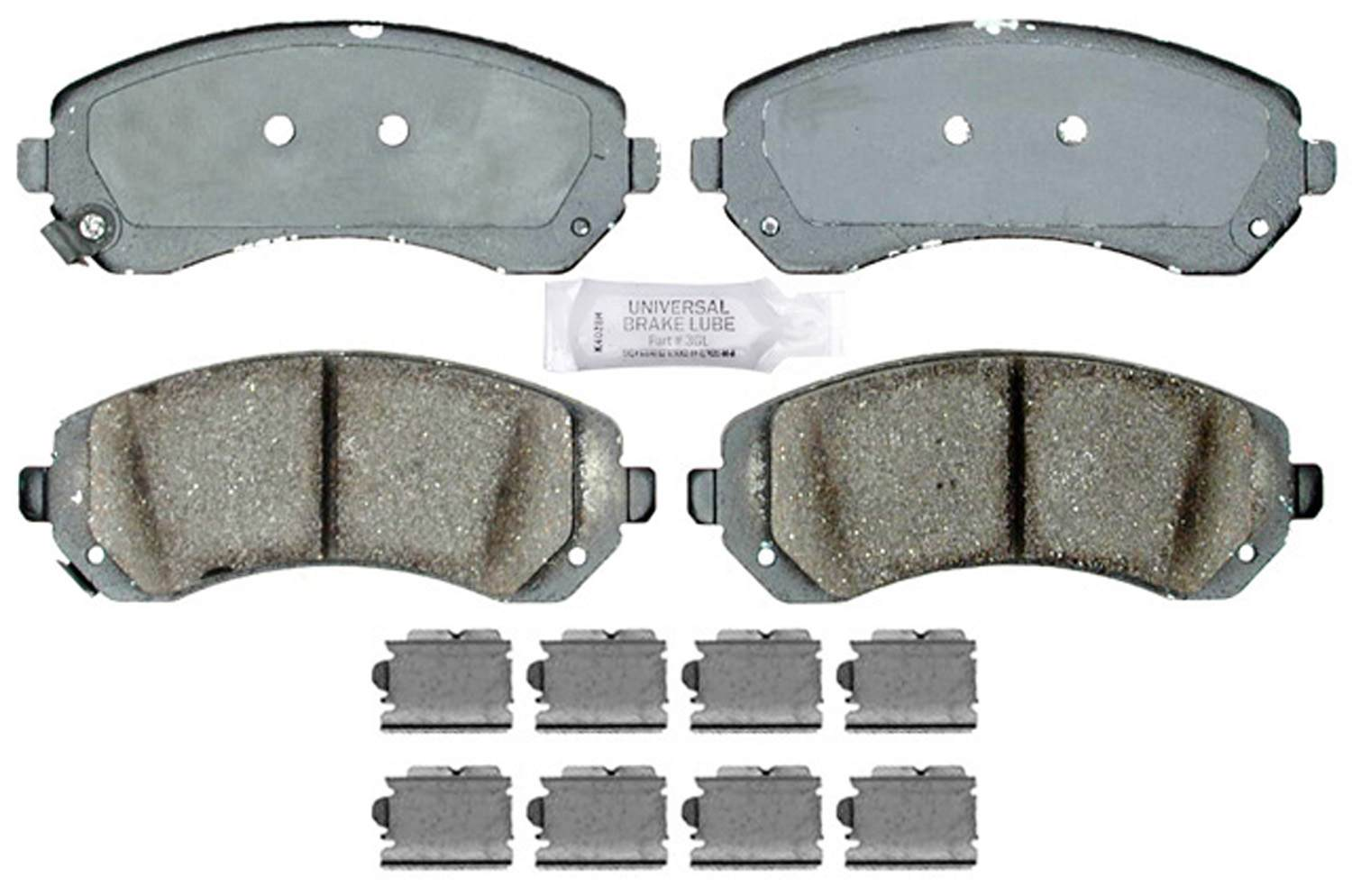 ACDELCO GOLD/PROFESSIONAL BRAKES - Ceramic Disc Brake Pad (Front) - ADU 17D844CH
