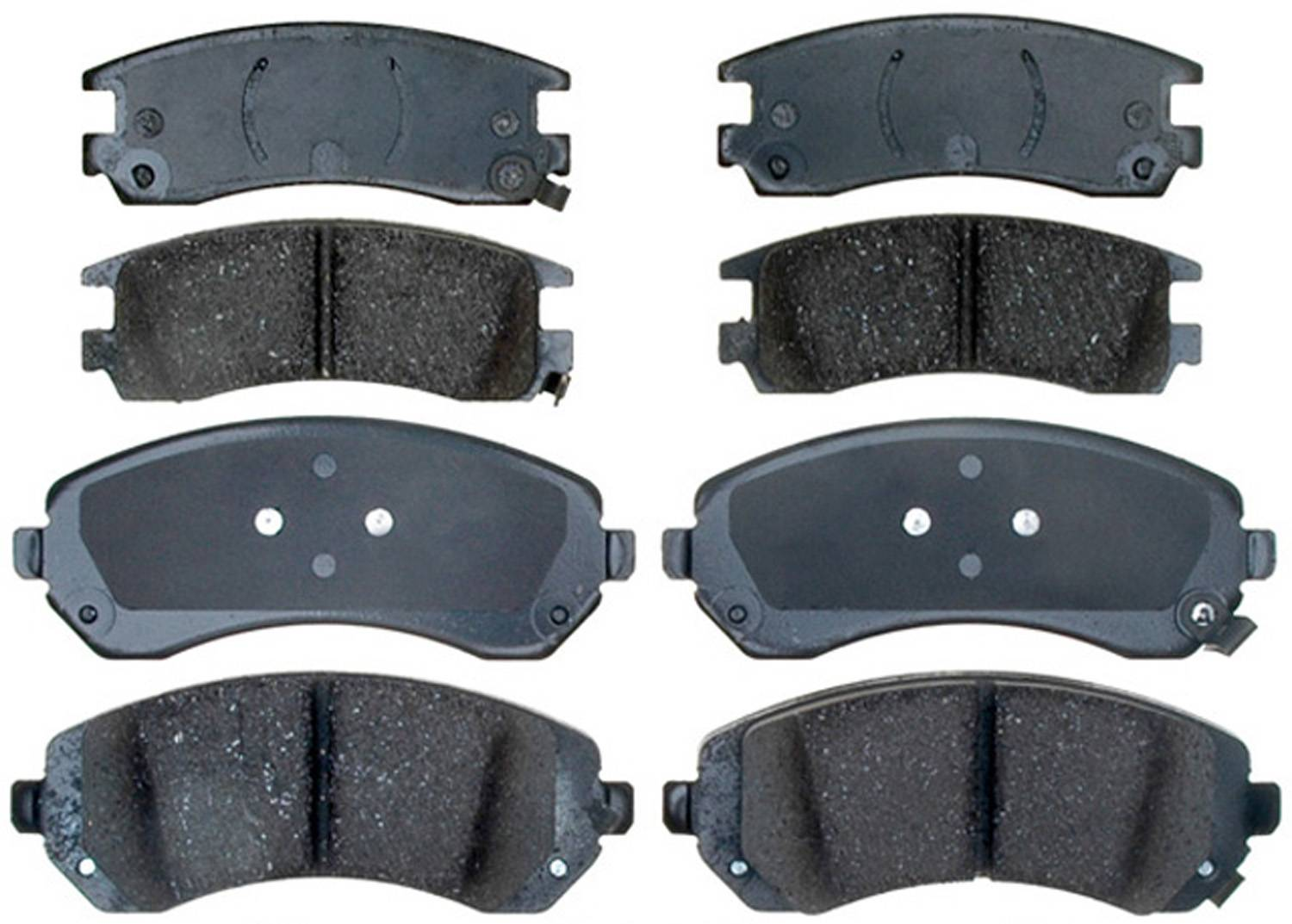 ACDELCO GOLD/PROFESSIONAL BRAKES - Ceramic Disc Brake Pad (Front) - ADU 17D844SK