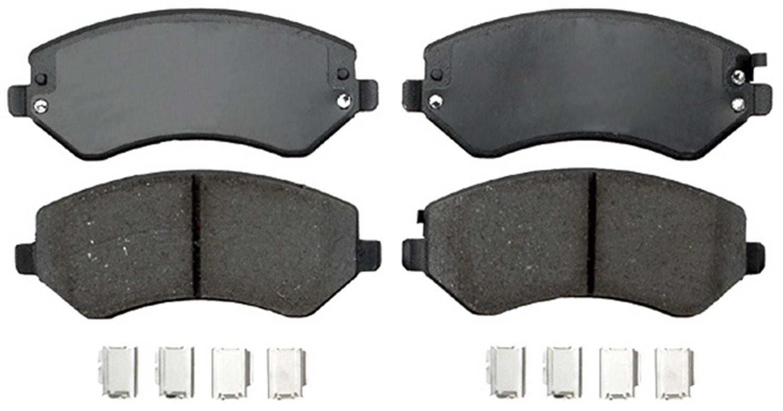 ACDELCO PROFESSIONAL BRAKES - Ceramic Disc Brake Pad (Front) - ADU 17D856ACH