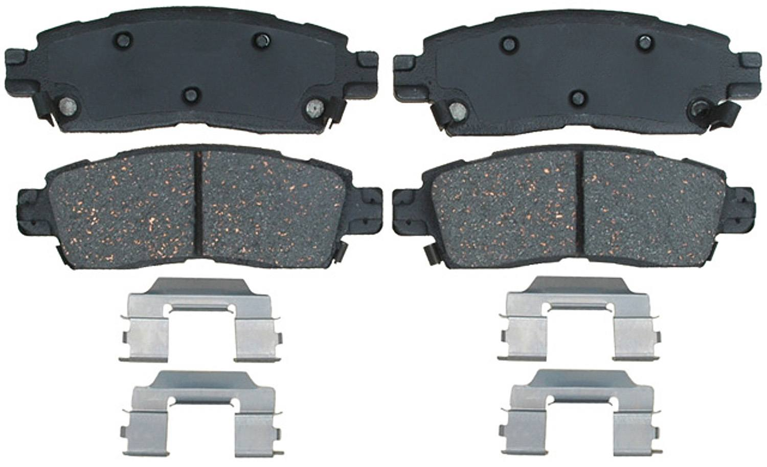 ACDELCO GOLD/PROFESSIONAL BRAKES - Semi-metallic (Rear) - ADU 17D883MH