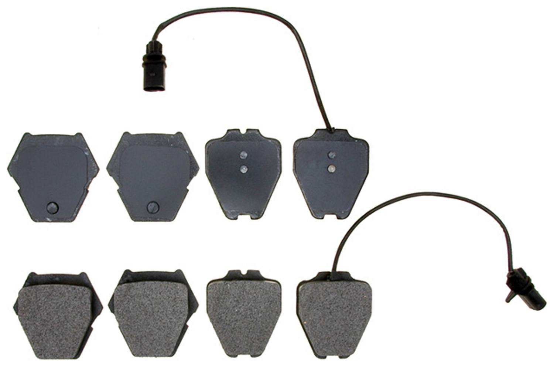 ACDELCO PROFESSIONAL BRAKES - Semi Metallic Disc Brake Pad - ADU 17D912M