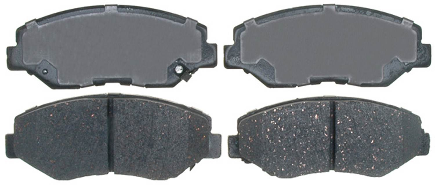 ACDELCO PROFESSIONAL BRAKES - Ceramic Disc Brake Pad (Front) - ADU 17D914C