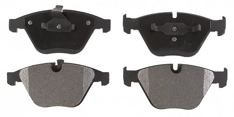 ACDELCO PROFESSIONAL BRAKES - Semi Metallic Disc Brake Pad (Front) - ADU 17D918M