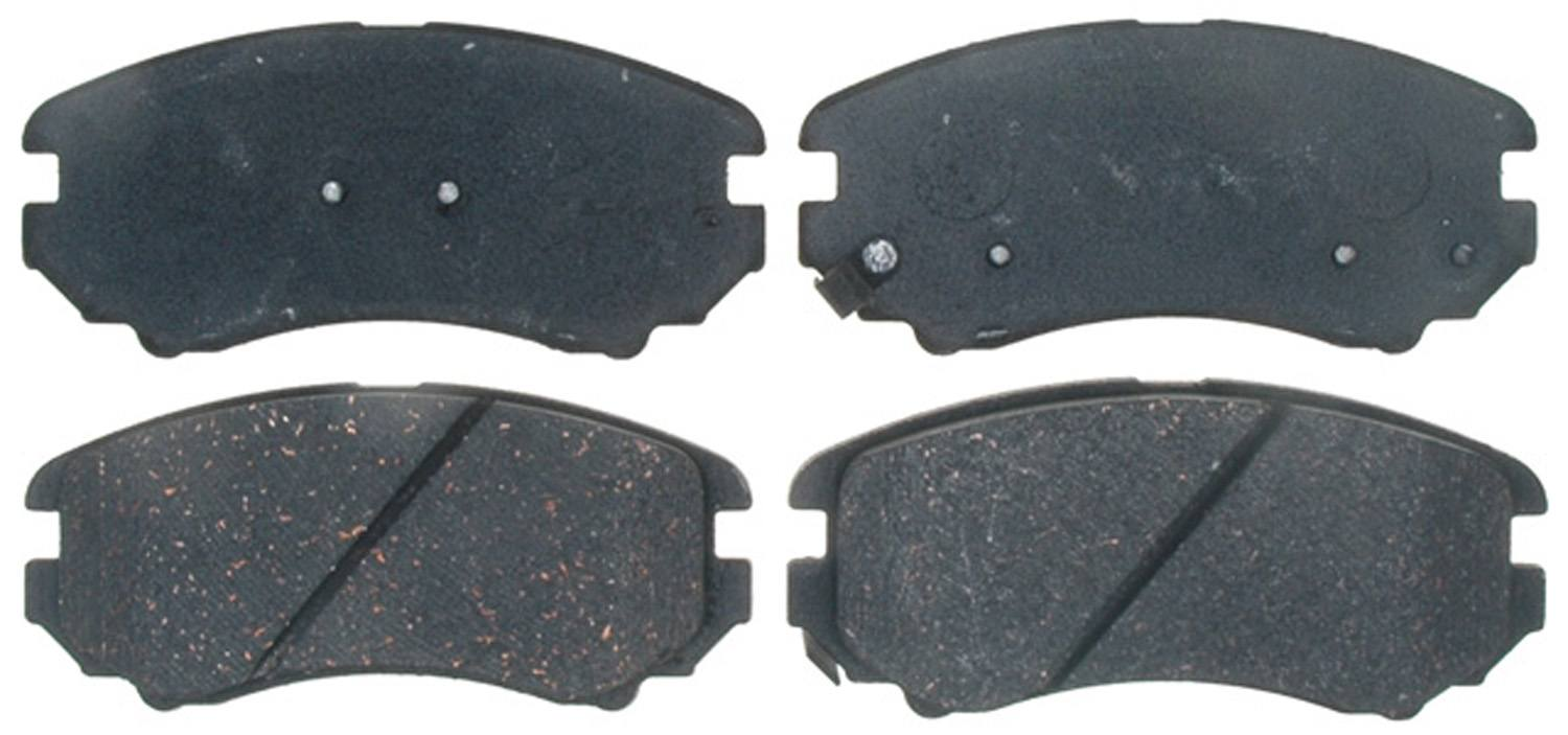 ACDELCO PROFESSIONAL BRAKES - Ceramic Disc Brake Pad (Front) - ADU 17D924C