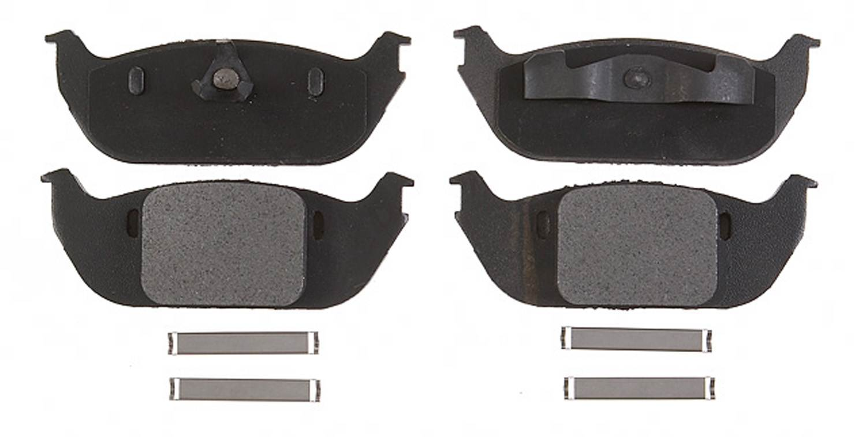 ACDELCO PROFESSIONAL BRAKES - Semi Metallic Disc Brake Pad (Rear) - ADU 17D952M