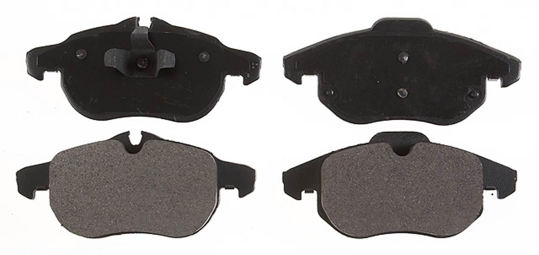 ACDELCO PROFESSIONAL BRAKES - Semi Metallic Disc Brake Pad (Front) - ADU 17D972M