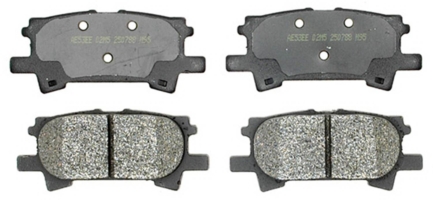 ACDELCO PROFESSIONAL BRAKES - Semi Metallic Disc Brake Pad (Rear) - ADU 17D996M