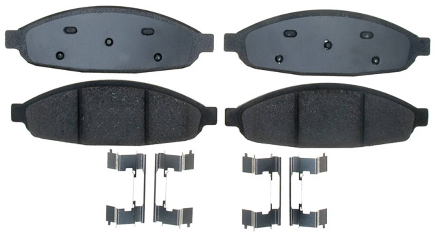 ACDELCO PROFESSIONAL BRAKES - Ceramic Disc Brake Pad (Front) - ADU 17D997CH