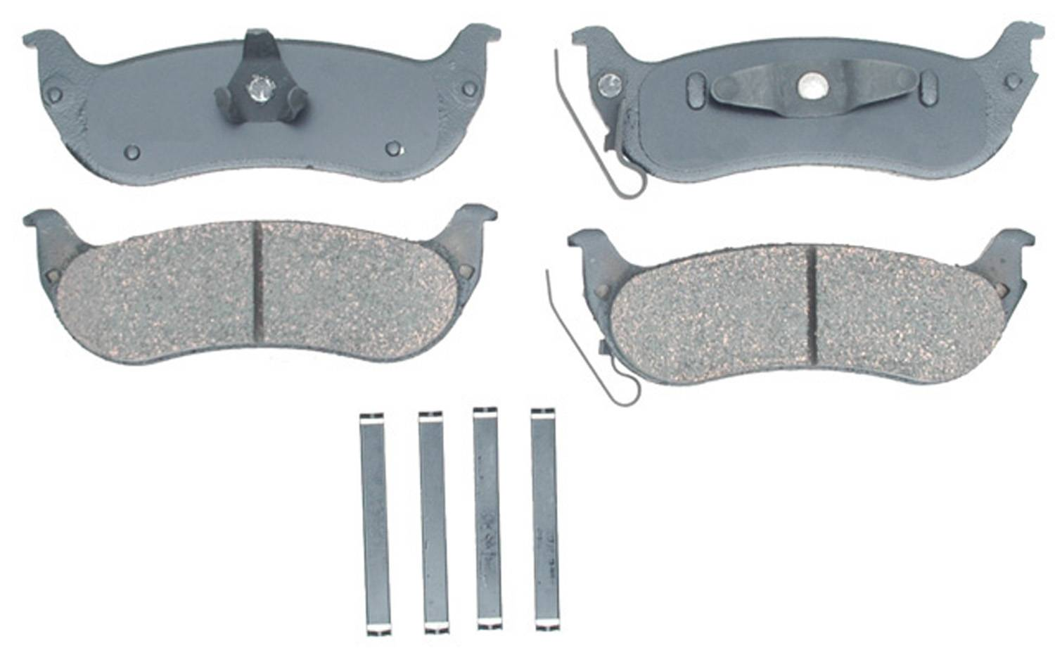 ACDELCO GOLD/PROFESSIONAL BRAKES - Ceramic Disc Brake Pad (Rear) - ADU 17D998CH