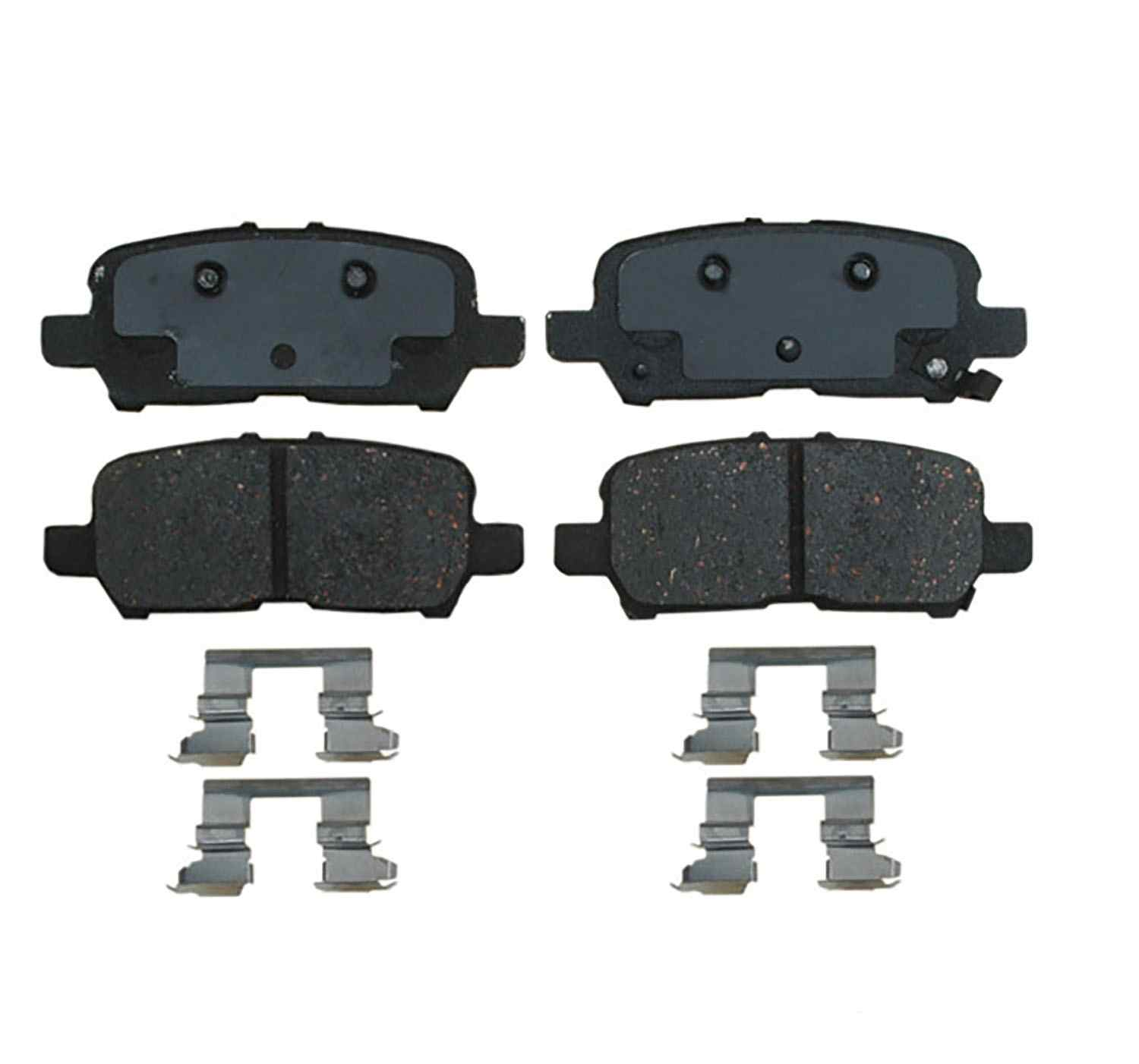 ACDELCO SPECIALTY - Police Semi-Metallic Disc Brake Pad (Rear) - DCE 17D999MHPV