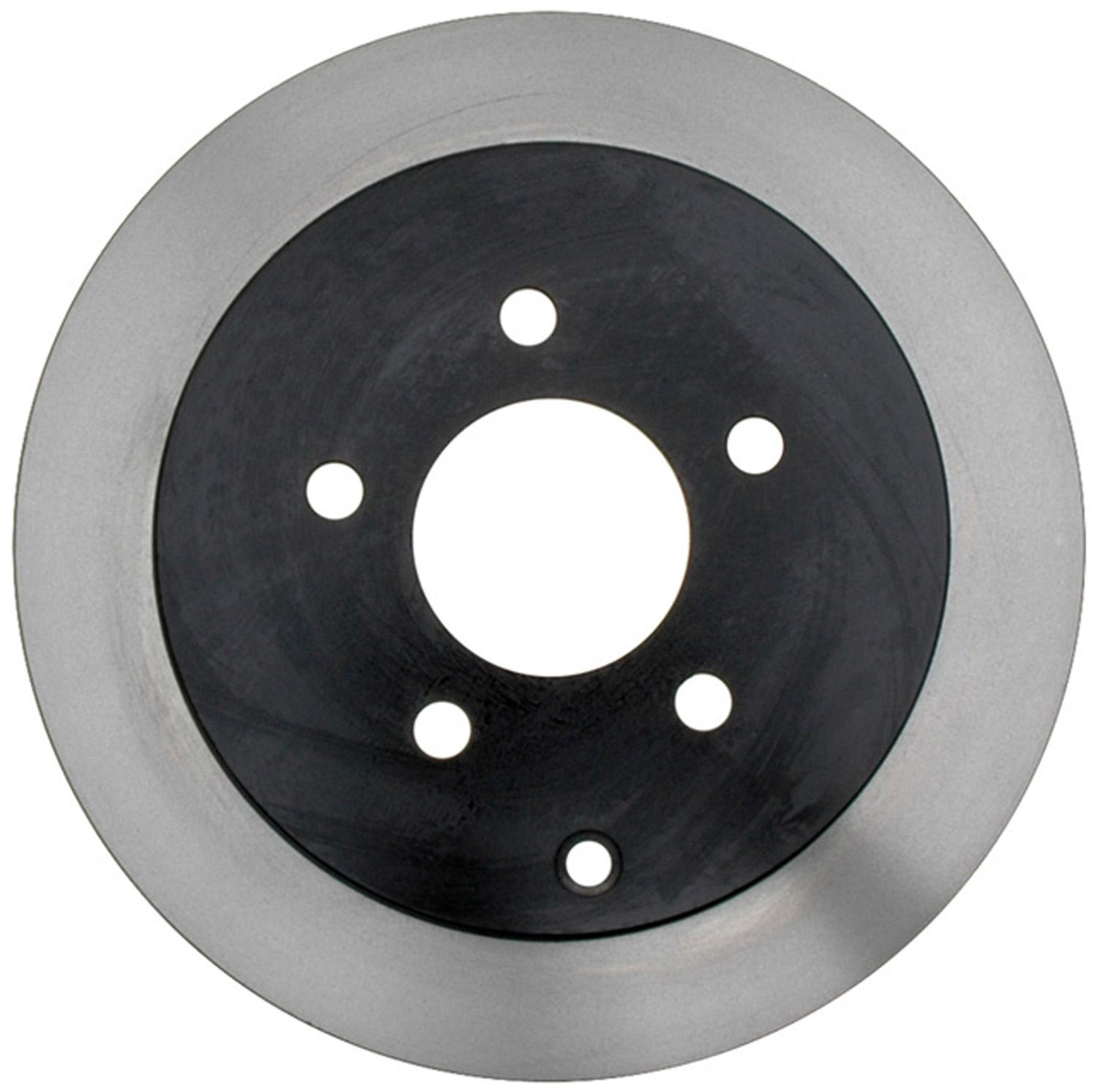 ACDELCO GOLD/PROFESSIONAL BRAKES - Black Hat (Rear) - ADU 18A1423