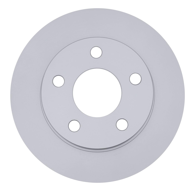 ACDELCO SILVER/ADVANTAGE - Coated Disc Brake Rotor (Rear) - DCD 18A1478AC