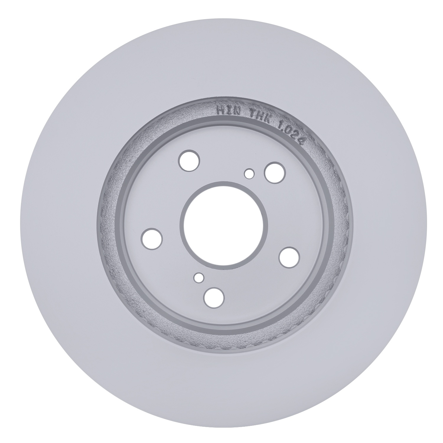 ACDELCO SILVER/ADVANTAGE - Coated Disc Brake Rotor (Front) - DCD 18A1485AC