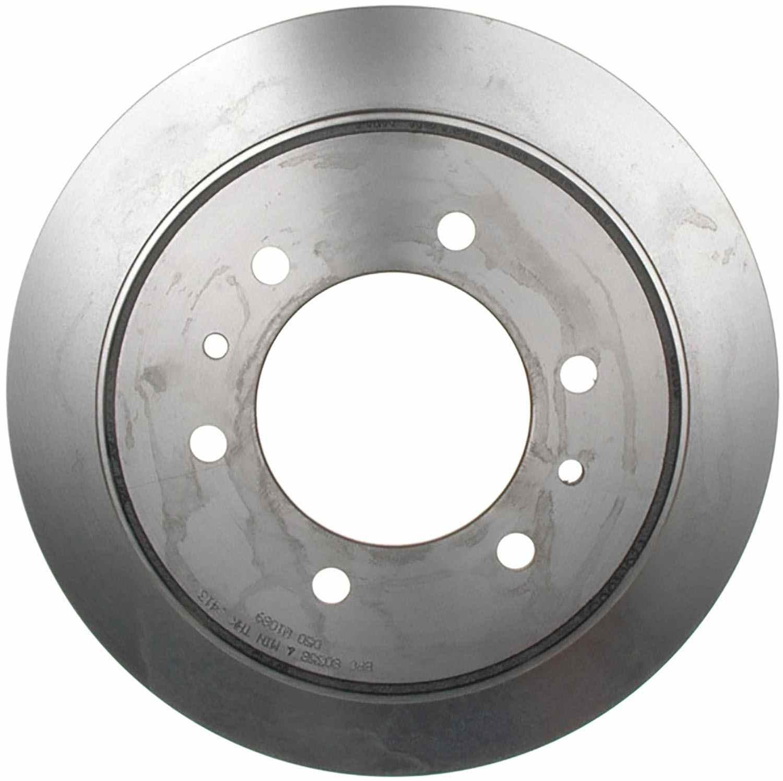 ACDELCO SILVER/ADVANTAGE - Coated Disc Brake Rotor (Rear) - DCD 18A1777AC