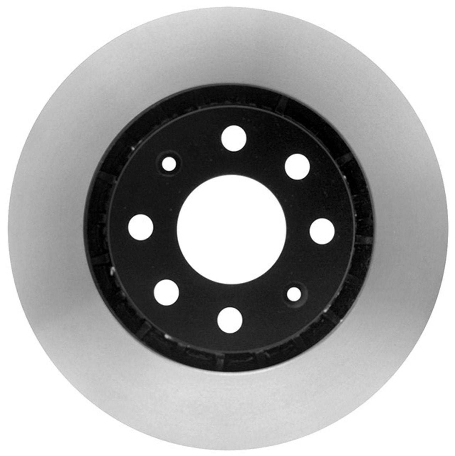 ACDELCO GOLD/PROFESSIONAL BRAKES - Black Hat (Front) - ADU 18A2324