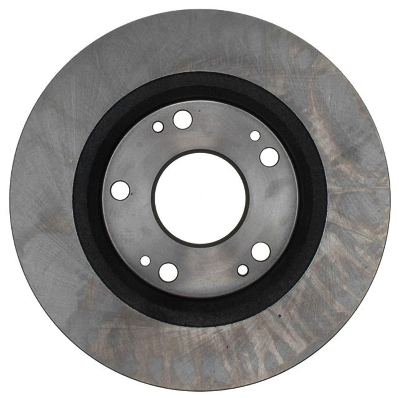 ACDELCO ADVANTAGE - Non-Coated Disc Brake Rotor (Rear) - DCD 18A2331A