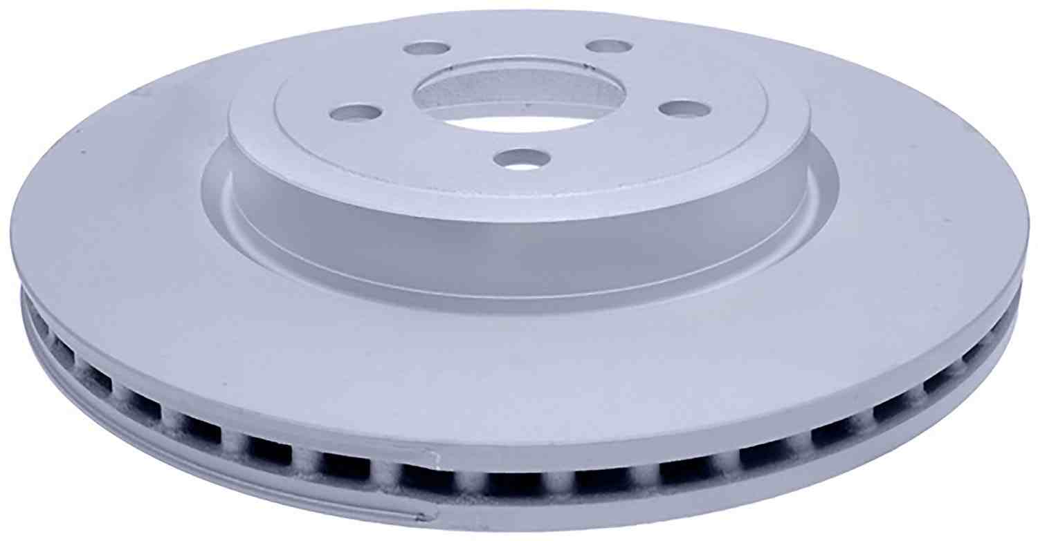 ACDELCO SILVER/ADVANTAGE - Coated Disc Brake Rotor (Front) - DCD 18A2343AC