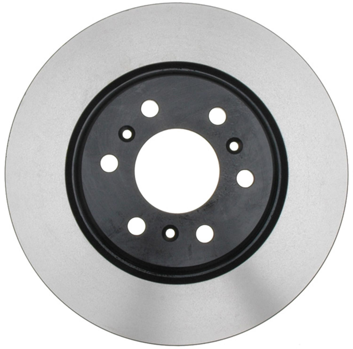 ACDELCO GOLD/PROFESSIONAL BRAKES - Black Hat (Front) - ADU 18A2349